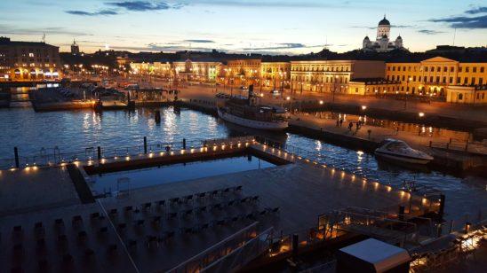 Elokuun ilta - Allas Sea Pool, Helsinki