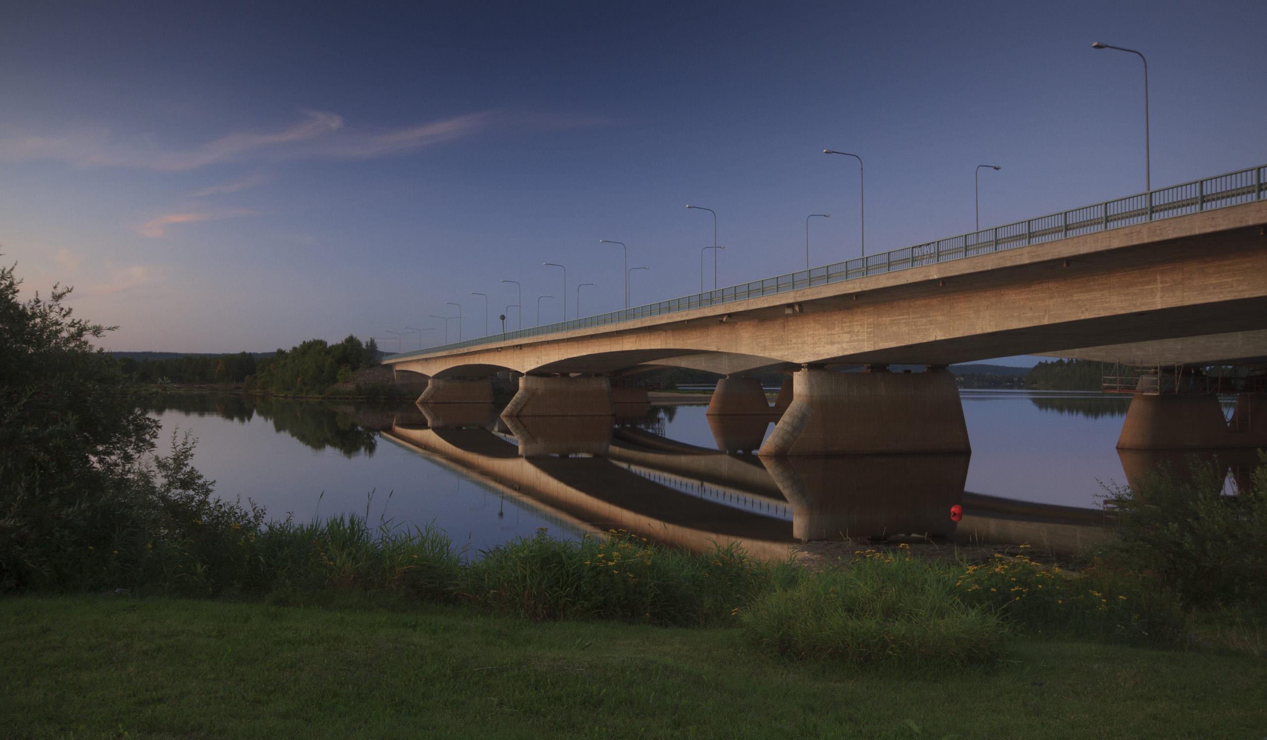 SIlta joen yli, Rovaniemi