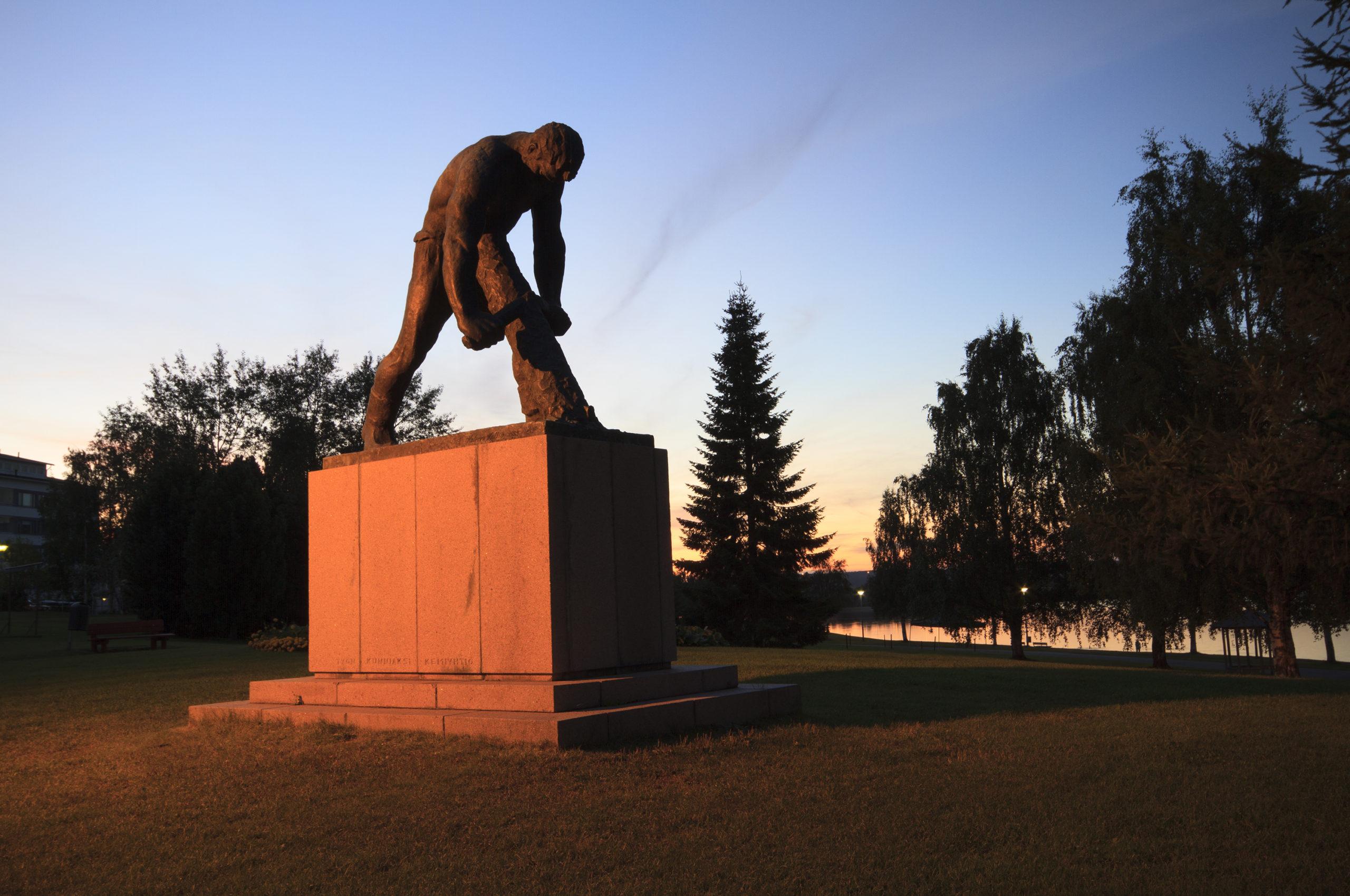Jätkä-patsas, Rovaniemi