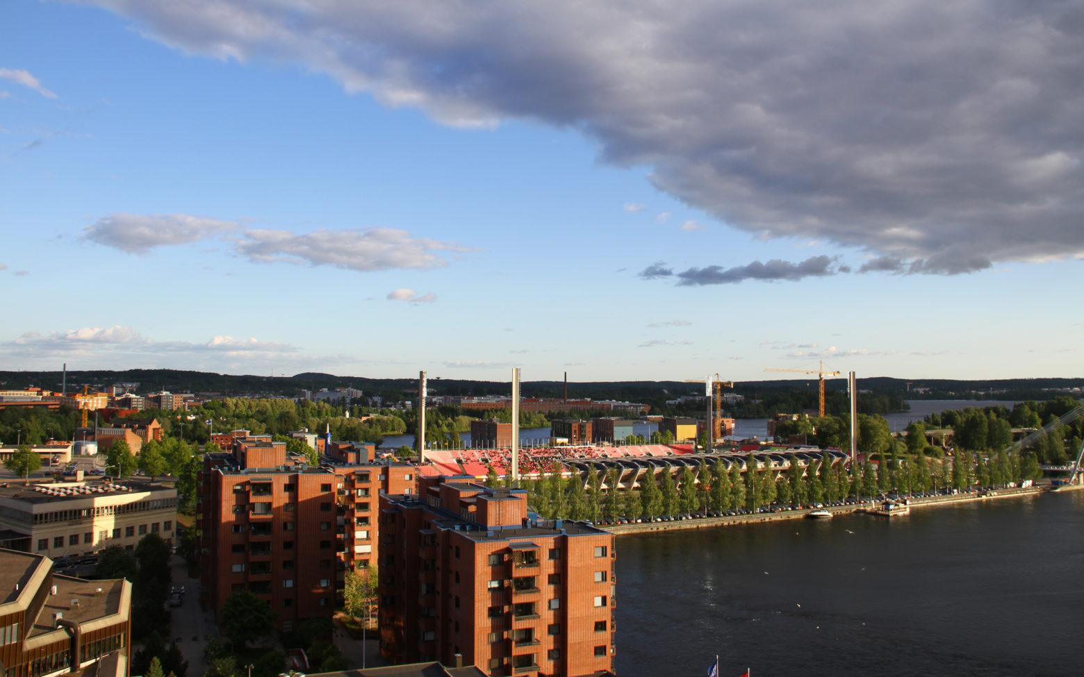 Ratinan stadion Tampereella
