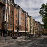 Värikkäät vanhat talot Helsingissä