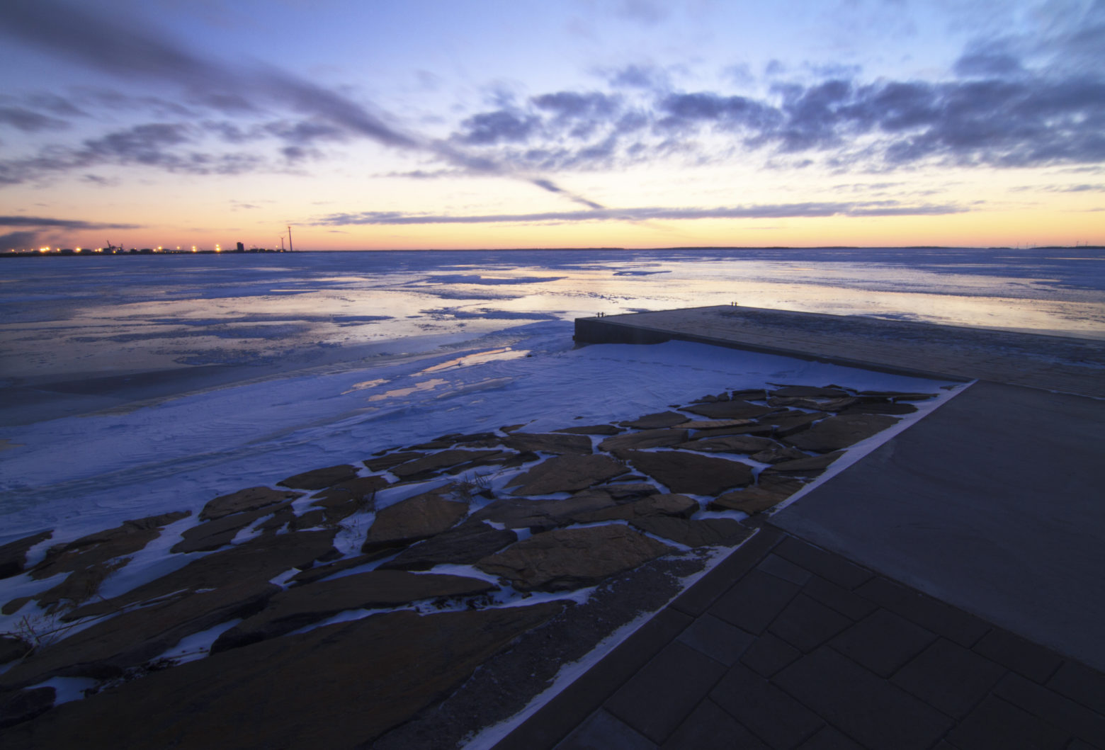 Auringonlasku Oulu