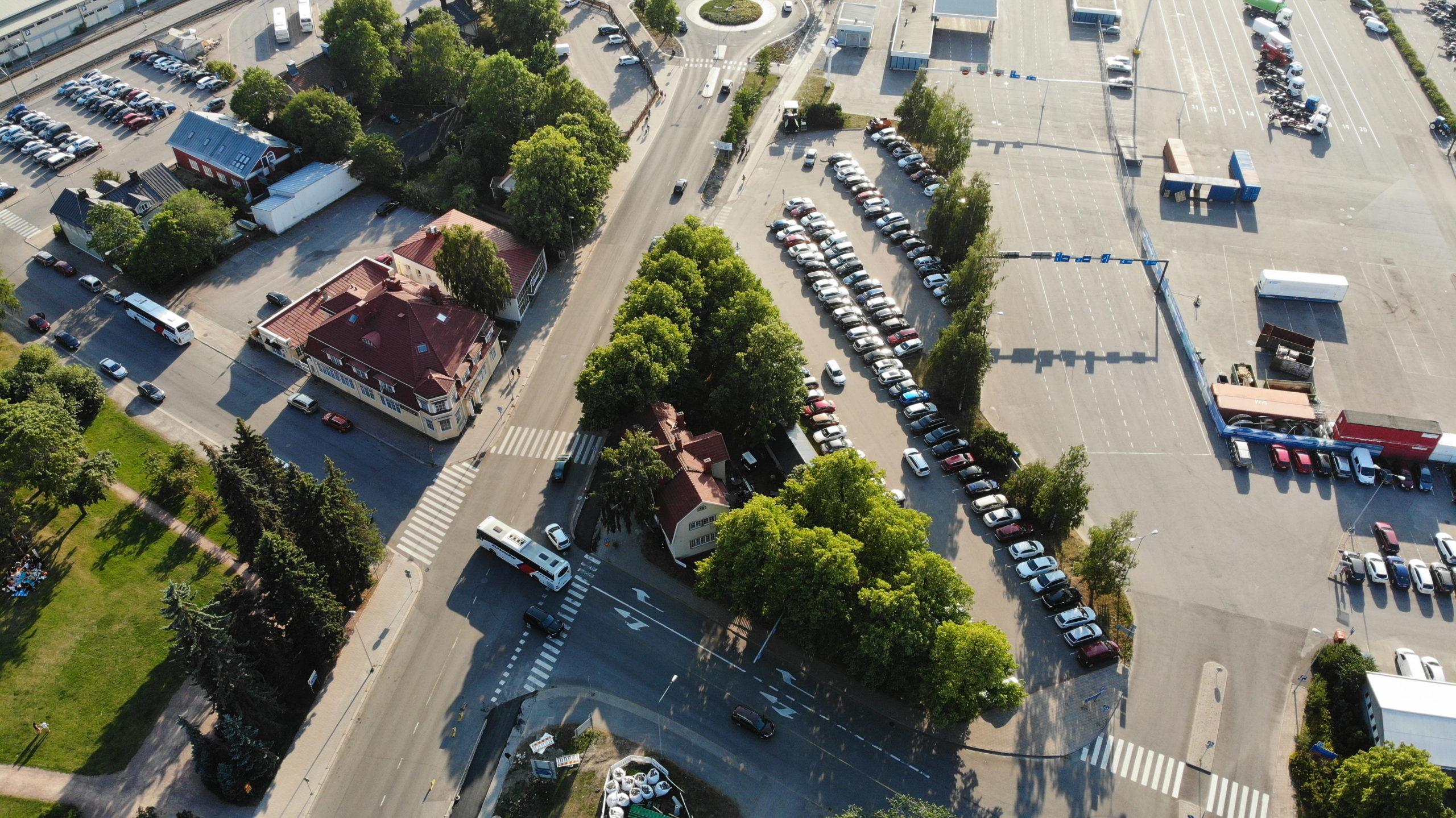 Parkkipaikka Turku